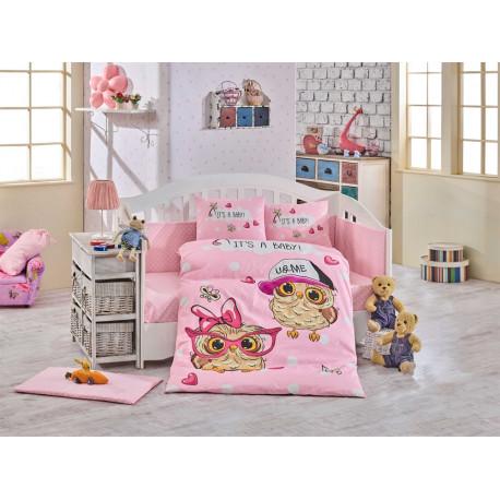 Постельное белье детское Hobby Cool Baby розовое