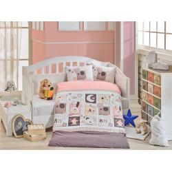 Постельное белье детское Hobby Sweet Home розовое
