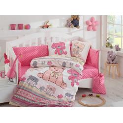 Постельное белье детское Hobby Tombik розовое