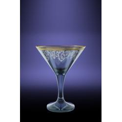 Бокалы для мартини 170мл декор с рисунком Каскад TL40-410