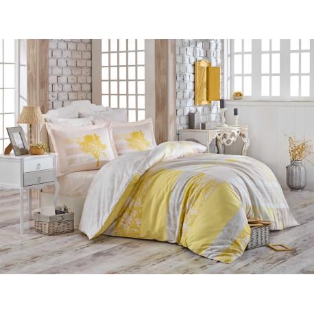 Комплект постельного белья Hobby Exclusive Sateen - Elsa желтый
