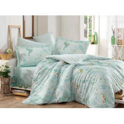 Комплект постельного белья Hobby Exclusive Sateen - Mystery зеленый