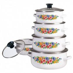 Набор посуды эмалированной 10пр Klausberg KB7169/3709