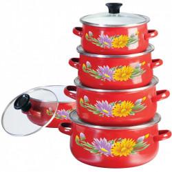Набор посуды эмалированной 10пр Klausberg KB7170/3710