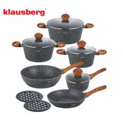 Набор посуды 12пр Klausberg KB7242