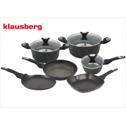 Набор посуды 9пр Klausberg KB7200