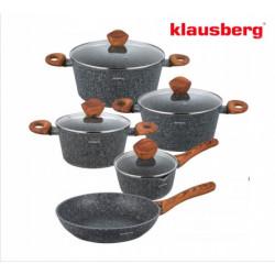 Набор посуды 9пр Klausberg KB7241