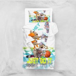 Постельное белье для подростков 160х220 Eponj Home 3D Micro Satin - Hey Beyaz