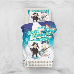 Постельное белье для подростков 160х220 Eponj Home 3D Micro Satin - Sheeps Mavi