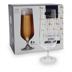 Набор бокалов для пива Bohemia Strix Dora 380 мл