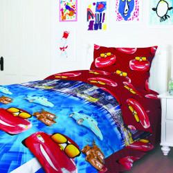 Постельное белье для подростков ТЕП 949 Тачки