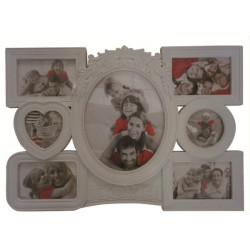 Рамка для фото белая frame EVG BIN 1123126 White Collage 6 ( BIN-1123126 )