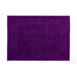 Полотенце для ног махровое Hobby 50х70 Hayal фиолетовое