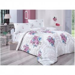 Постельное белье евро Aurora Home ранфорс - 903 V1