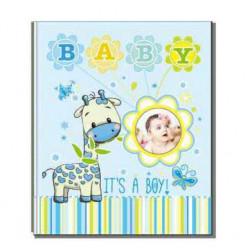 Фотоальбом на 200 фотографий размером 10x15см EVG BKM46200 Baby blue