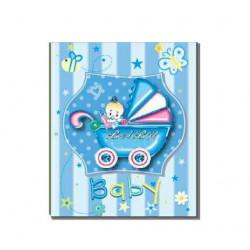 Фотоальбом на 200 фотографий размером 10x15см EVG BKM46200 Baby car blue