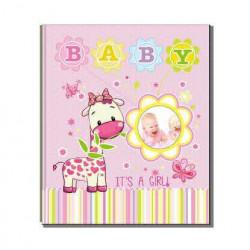 Фотоальбом на 200 фотографий размером 10x15см EVG BKM46200 Baby pink