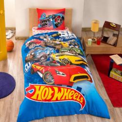 Постельное белье 160х220 подростковое Tac Disney - Hot Wheels