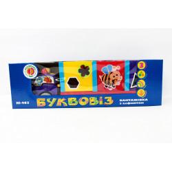 """Игрушка-каталка """"Буквовоз"""" KI-403 380050R"""