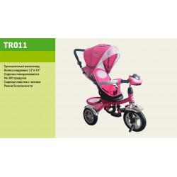 Велосипед 3-х колесный TR011 Розовый