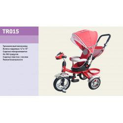 Велосипед 3-х колесный TR015 Красный