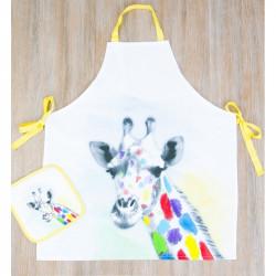 Набор для кухни Barine - Giraffe фартук с прихваткой