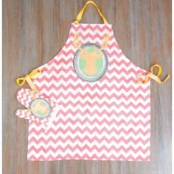 Набор для кухни Barine - Yellow dear фартук с рукавичкой
