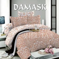 Постельное белье евро №6 Viluta Поплин Дамаск 001