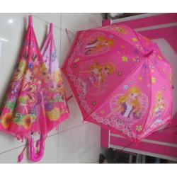 Зонт-трость с рисунком 3 вида полуавтомат F17807