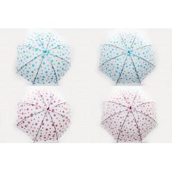 Зонт-трость с рисунком 6 видов полуавтомат U530