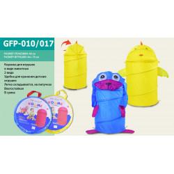 Корзина для игрушек в сумке со змейкой GFP-010017