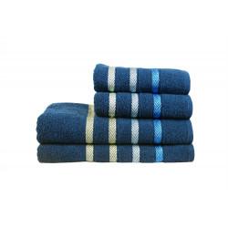 Полотенце махровое 50х90 IzziHome - Vega синее