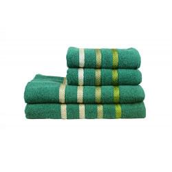 Полотенце махровое 70х140 IzziHome - Vega зеленое
