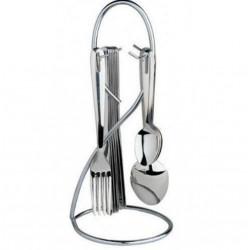 Набор столовых приборов 24 пр. BergHOFF 2800577  Lime на стойке (Etno) Cook&co