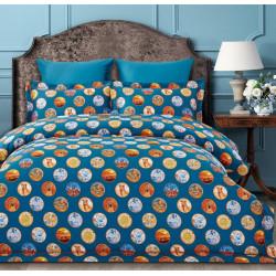 Постельное белье двухспальное Arya Fashionable Sementa