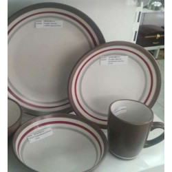 Тарелка обеденная круглая 27см Milika Mocco Purple M0480-SH02D