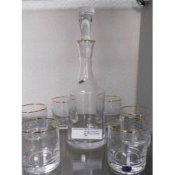 Набор для виски 7 предметов Bohemia Grace (Q8082)