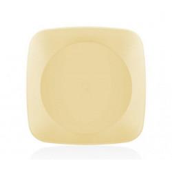 Тарелка пластиковая 17х17см Bager Clover square MIX BG-406