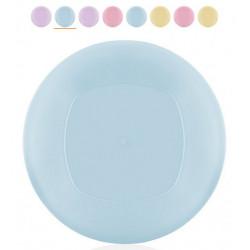 Тарелка пластиковая 24см Bager Clover MIX BG-405