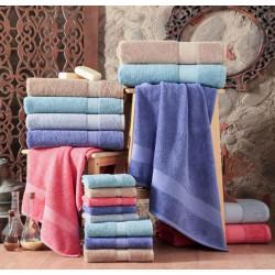 Полотенце махровое 30х50 Arya-Miranda Soft Пурпуровий