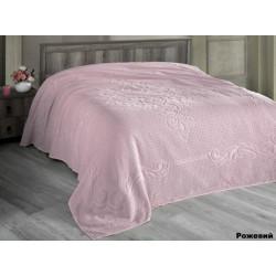Простынь махровая 200X220 Arya Foli Розовый