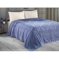 Комплект постельного белья евро Arya - Estafan Голубой