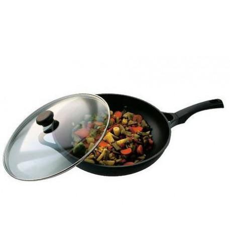 Сковорода-вок с крышкой 28см Vinzer  89404