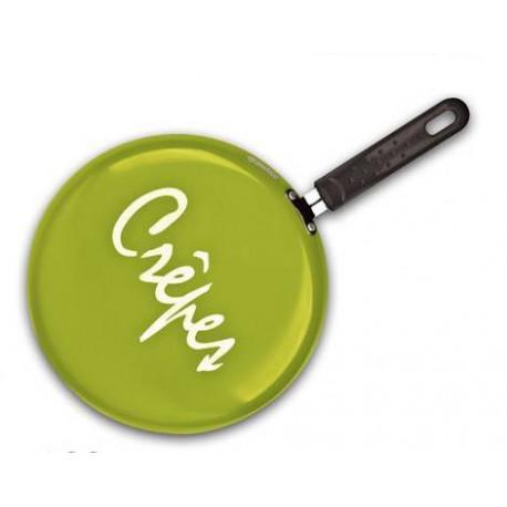 Сковорода блинная 26cm Granchio  оливковая  Crepe 88273