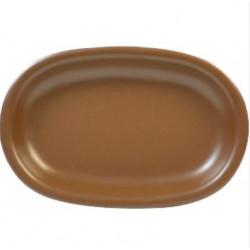 Блюдо овальное 25х18х3,5 Keramia Табако (24-237-047)