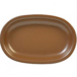 Блюдо овальное 22х15х3 Keramia Табако (24-237-046)