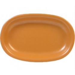 Блюдо овальное 22х15х3 Keramia Терракота (24-237-031)
