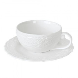 Чашка кофейная&блюдце 120 мл Irish Lacy Collection Krauff (21-252-082)
