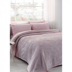 Постельное белье евро Tac Jakar Pike - Claire pembe розовый