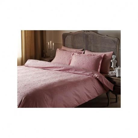Постельное белье евро Tac жаккард - Gardenia розовый